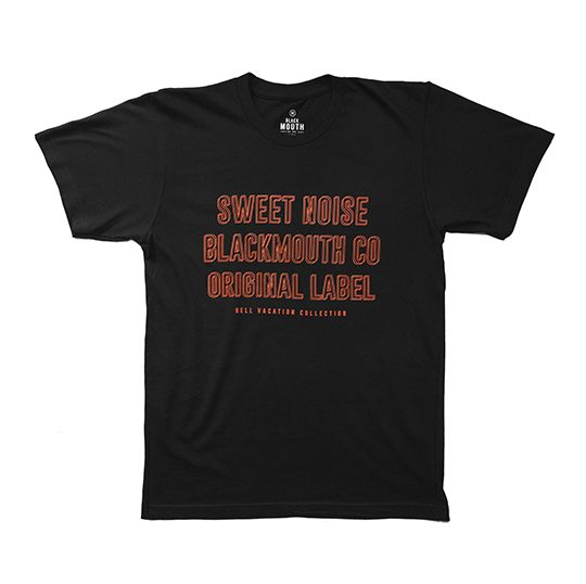 SWEET NOISE TEE BLACK 1