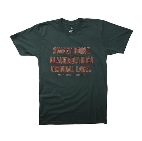 SWEET NOISE TEE GREEN 1